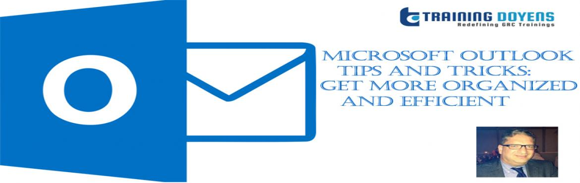 Book Online Tickets for Microsoft Outlook Tips and Tricks: Get M, Aurora. OVERVIEW This 60 minute Get Organized with Outlook session will encourage and enlighten Outlook users on how to use Microsoft Office Outlook to more confidently and efficiently organize their information and commitments. Participants will learn smart