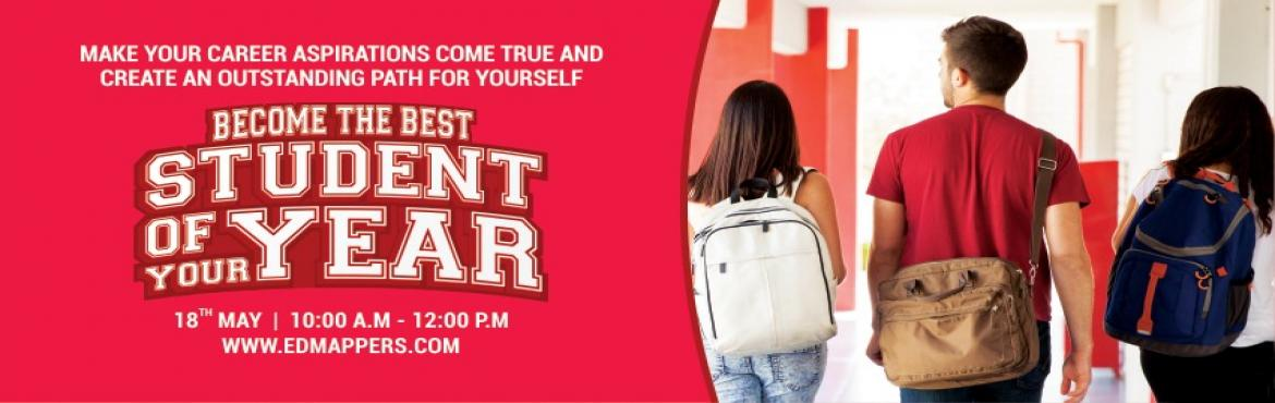 Book Online Tickets for Become The Best Student Of Your Year, Hyderabad. Make your career aspirations come to and create an outstanding path for yourself. Book your free workshop before 16th May to understand.  CAREER COUNSELLING SESSION 18TH MAY 2019 | 10:00 A.MAre you that student who likes to tinker with cool gadg