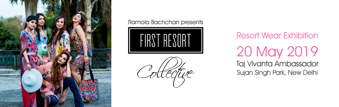 Book Online Tickets for First Resort Collective - Resort Wear Ex, New Delhi. The First Resort Collective is a resort wear exhibition that features an exclusive collection of holiday essentials designed to make you fashion-ready for the vacation season. Highlights include resort wear by First Resort and an exciting line-up of