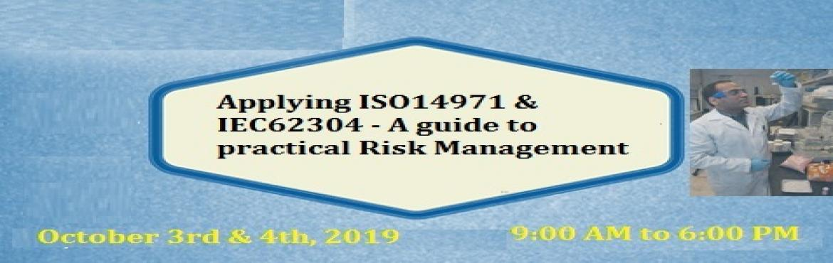 Book Online Tickets for A guide to practical Risk Management - A, Philadelph. Description: Gaps, incorrect or incomplete implementation of safety functionality can delay or make the certification/approval of medical products impossible. Most activities cannot be retroactively performed since they are closely linked into the de