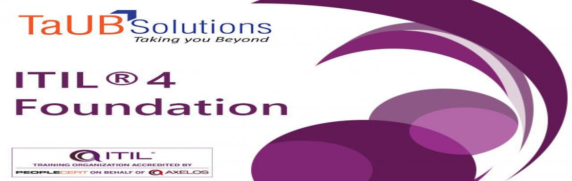 Book Online Tickets for ITIL 4 Foundation Training and Certifica, Bengaluru.  The purpose of the ITIL® Foundation examination is: To assess whether the candidate can demonstrate sufficient recall and understanding of theITIL® 4 service management framework, as described in the syllabus below, to be awarded th