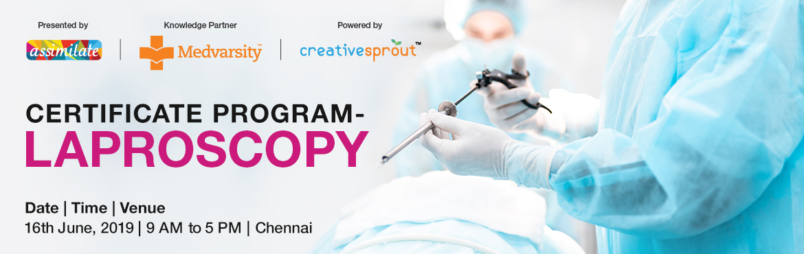 Book Online Tickets for Workshop on Laproscopy - Chennai, Chennai. This Workshop will bring together a host of experts to discuss on recent developments in the field of surgery and surgical training. Experts from hospitals/academia will discuss recent advances in the field of surgery and improving training in surger