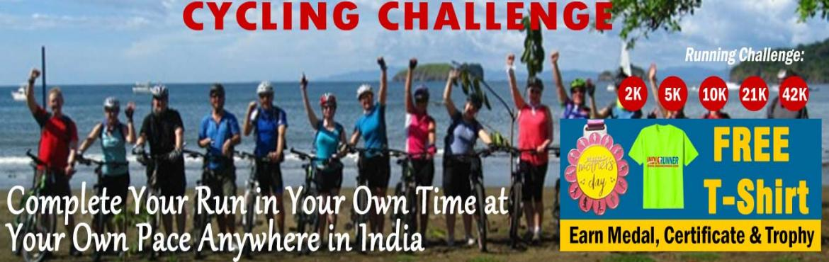 Book Online Tickets for June Cycling Challenge 2019 and GET Free, Amritsar. June Cycling Challenge 2019:  Run Challenge: One Day Run Challenge 10K/21K/42K in a day. Daily Run Challenge 2K/5K Running for15days in a month  FREE T-Shirt, if continue join for JUNE, JULY and AUGUST Challenge.