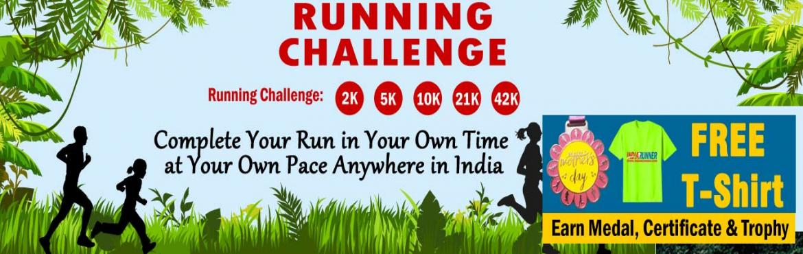 Book Online Tickets for June RUN Challenge 2019 GET Free T-shirt, Guwahati.  June Run Challenge 2019:   Run Challenge: One Day Run Challenge 10K/21K/42K in a day. Daily Run Challenge 2K/5K Running for 15 days in a month   FREE T-Shirt, if continue join for JUNE, JULY and AUGUST Challenge.   &nbs