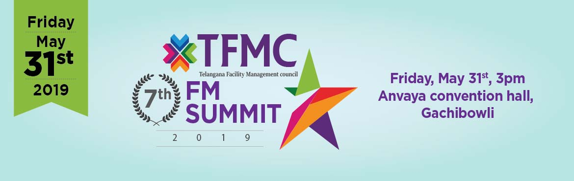 Book Online Tickets for TFMC FM SUMMIT 2019, Hyderabad. The Facilities Event 2019, is the meeting place for the FM and workplace industry. This year\'s event will be focused on providing essential knowledge, information and inspiration for the betterment of the FM community. TFMC was established in 2015 t