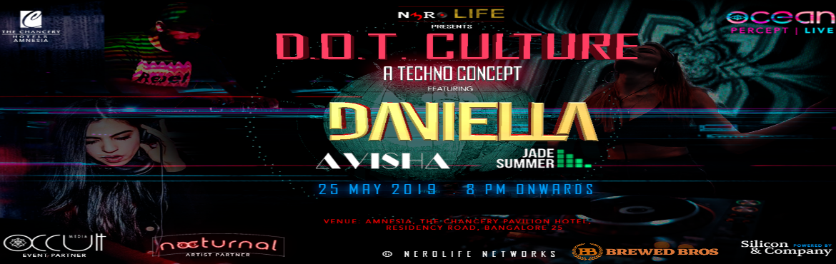 Book Online Tickets for DOT Culture - Techno Concept at Pool Sid, Bengaluru. A night dedicated to all those hardcore Techno music fans. Sway to the best of Techno mixes as we bring you the best DJs from across the globe. Your favorite Saturday night is back at this mesmerizing poolside venue Amnesia - The Poolside Bar l