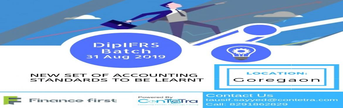 Book Online Tickets for Dip IFRS Training in Navi Mumbai by ConT, Mumbai.   Are you a corporate professional wanting to get upscaled to next level in finance or an aspiring CA, or a practising CA, or a finance / accounting professional wanting to give your career an edge by opting for a global diploma certificate (fro