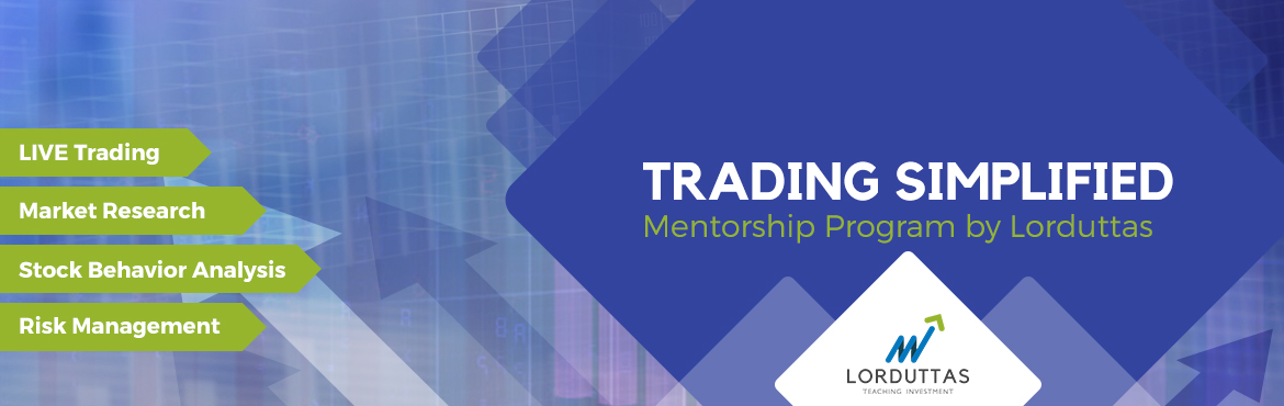 Book Online Tickets for  LORDUTTAS  LIVE STOCK MARKET  TRADING S, Hyderabad. PROGRAMSCHEDULE ....  Who Can Attend This Program?  Traders seeking larger returns General stock market investors Graduates opting to make a career in trading Individuals looking to maximize their possessions Professionals wanting t