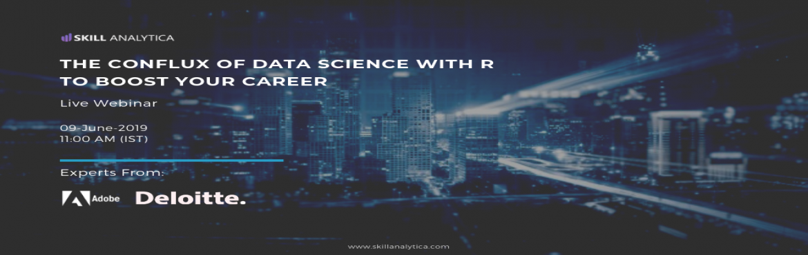 Book Online Tickets for Register for Free High Informative Data , Hyderabad. Make the best career movie by attending for the Free Data Science (online Webinar) scheduled On 9th June . The event is For 1 hour including Q&A Session.  Webinar Highlights: Q&A Sessions Intro to R How are tools used in real-time industry sc