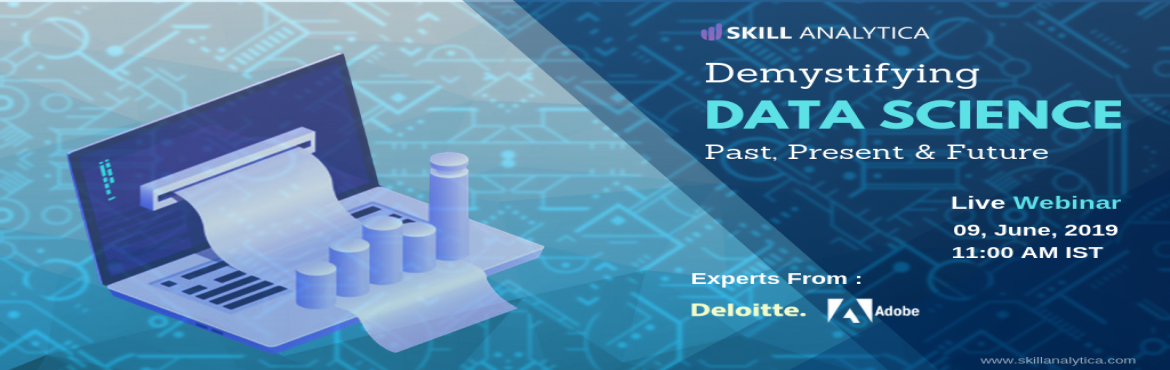 Book Online Tickets for Get Enrolled For The Free Interactive Da, Pune. Make the best career movie by attending for the Free Data Science (online Webinar) scheduled On 9th June . The event is For 1 hour including Q&A Session.  Webinar Highlights: Q&A Sessions Intro to R How are tools used in real-time industry sc