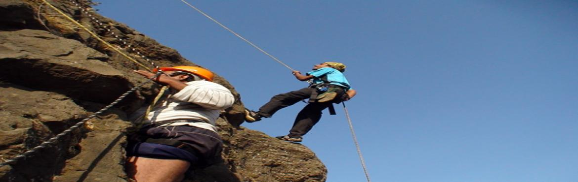 """Book Online Tickets for Kalakrai Climbing Expedition, Pune.  About The Event   """"Kalakrai Climbing Expedition"""" being a difficult pinnacle in Maharashtra, very few trekkers manage to reach top. The technical expertise needed to climb this pinnacle as reaching summit involves 200 ft techn"""