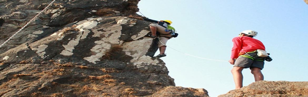 "Book Online Tickets for Tailbaila-Climbing Rappelling Expedition, Pune.   About The Event    Tailbaila Climbing & Rappelling Expedition"". Being a most difficult Natural Climbing walls in Maharashtra, very few trekkers manage to reach top. The technical expertise needed to climb this fort as reaching s"