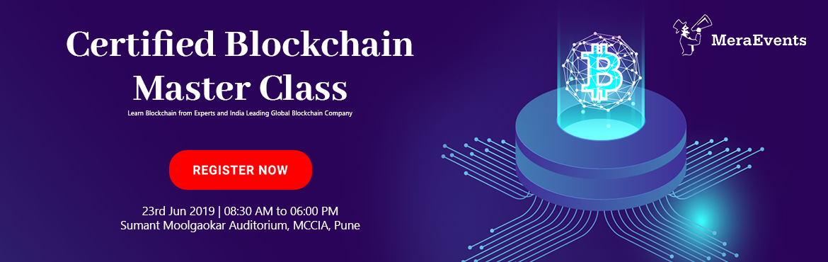 """Book Online Tickets for Snapper Certified Blockchain Master Clas, Pune. Snapper CertifiedBlockchain Master Class """"Learn Blockchain from Experts and India's Leading Global Blockchain Company""""  The Masterclass is scheduled on Sunday, 23rd June 2019at Lemon tree Hotel , Sumant Moolgaokar"""