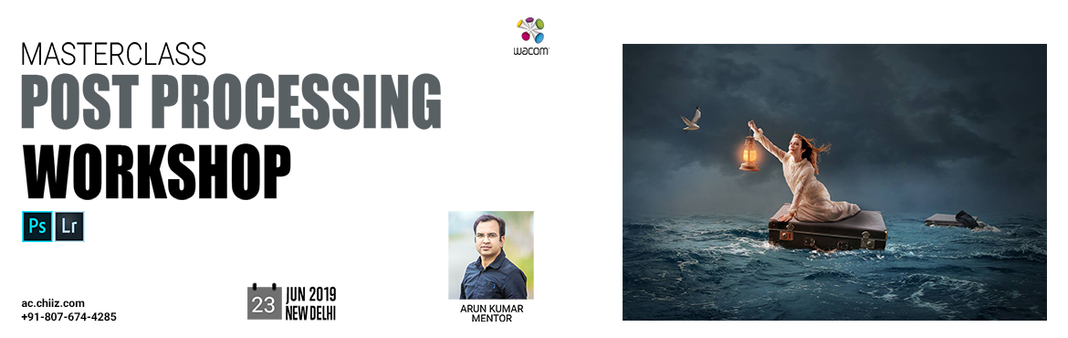 Book Online Tickets for Masterclass Post Processing Workshop, Ghaziabad. It doesn't matter how good a photographer is. Photo editing always plays a fundamental role in the final result of an image. It not only enhances the image, but also blends the art of storytelling that the artist intended to convey. They say th