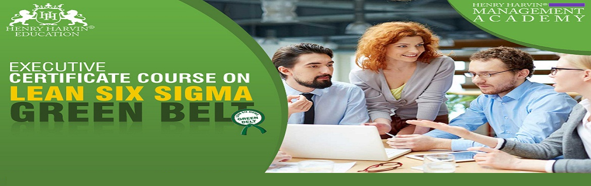 Book Online Tickets for Lean Six Sigma Green Belt Course by Henr, New Delhi.  Henry Harvin® Education introduces 5-days/20-hours Live Online Training Session. Based on this training, the examination is conducted, a basis which certificate is awarded. Post that, 6-months/12-hours Live-Online Action Oriented Sessions