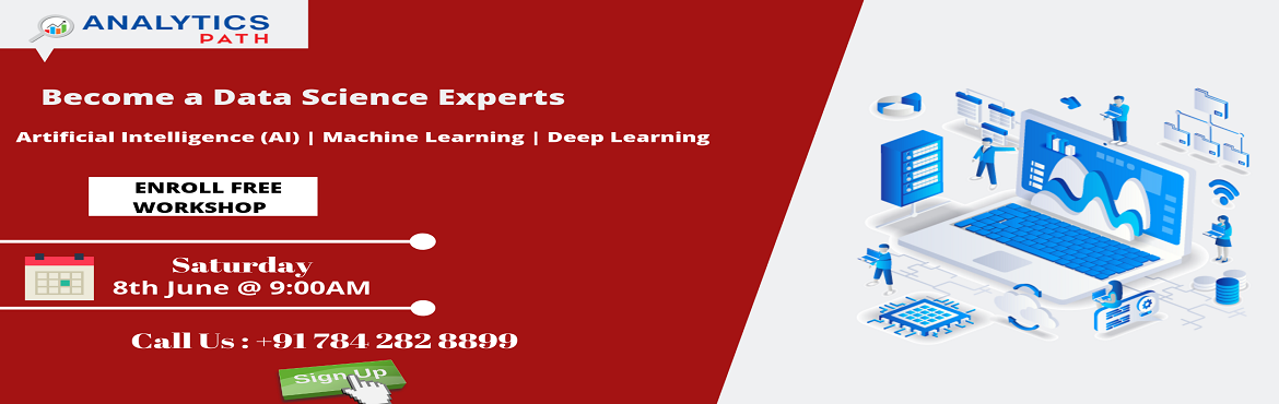 This free workshop session on Data Science is mainly for those aspirants who wants to step their foot in the in-demand analytics profession of Data Sc