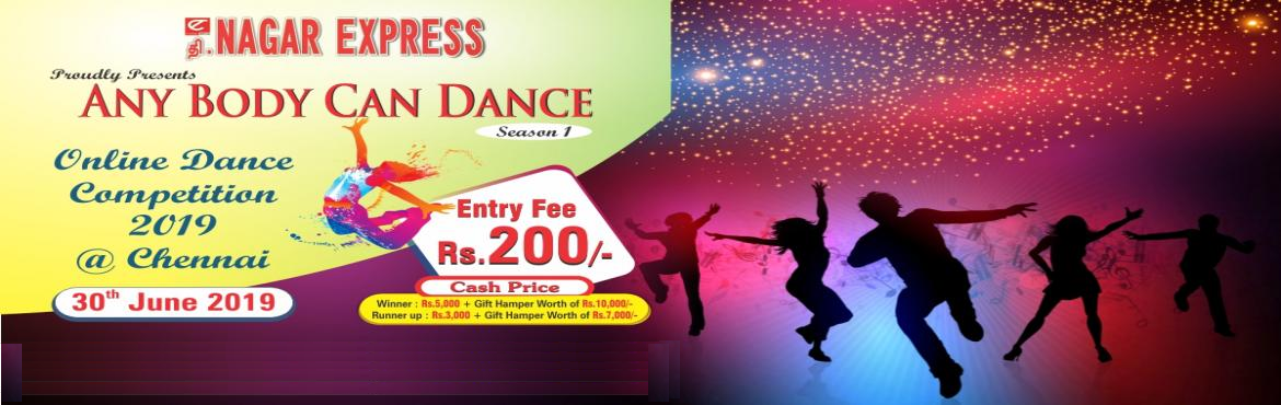 Book Online Tickets for Any Body Can Dance Contest 2019, Chennai.
