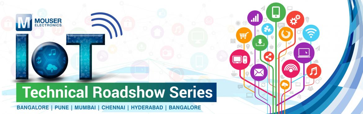 Book Online Tickets for Mouser IoT Roadshow 2019-Hyderabad, Hyderabad. IoT Roadshow is a stimulating event to learn the latest IoT news and applications in the region.We at Mouser Electronics and our leading manufacturers extend a warm welcome to you. Join us for the series of technical roadshows in your cities. R