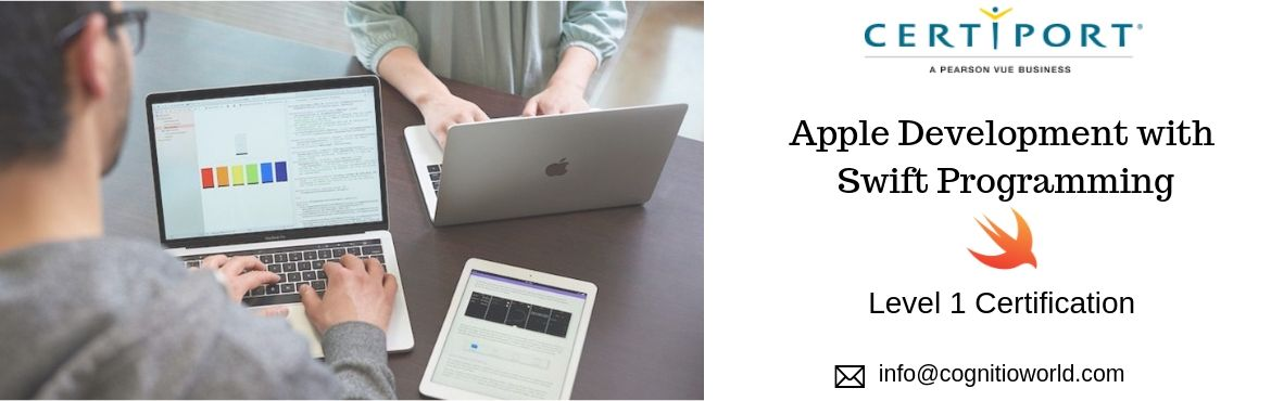 Book Online Tickets for Apple Certification for Swift Programmin, Mumbai. Individuals who earn theApp Development with SwiftLevel 1 Certification will validate foundational knowledge of Swift™, Xcode®, and app development toolscovered by theApp Development with Swift coursefrom Apple