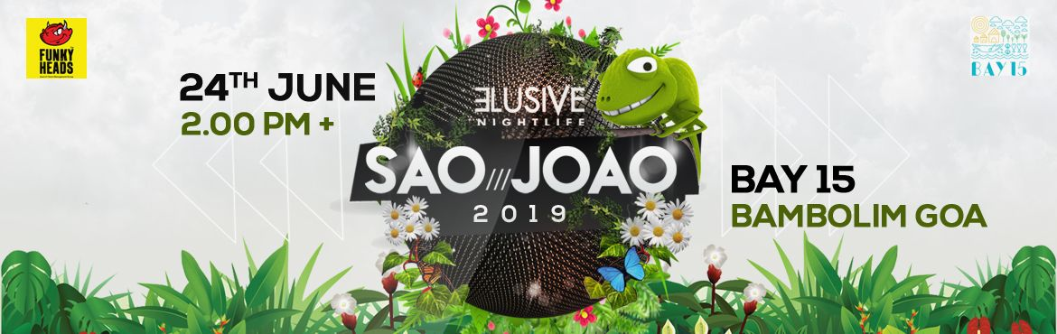 Book Online Tickets for The Elusive Saojoao 2019, Panaji. The SAOJOAO season is back with Goa's most celebrated multi-genre Sanjoao party to create an unparalleled, otherworldly Sanjoao experience like never before. So get ready to lose yourself into an essence of imagination where we celebrate monsoo