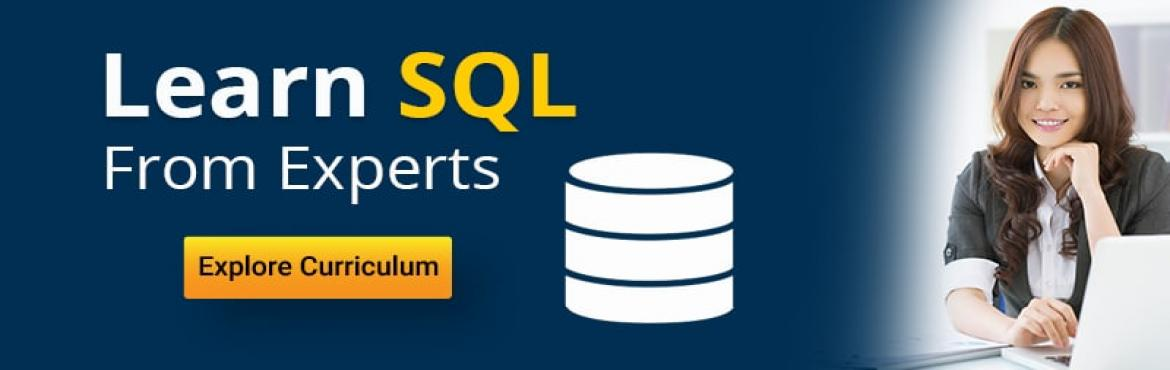 Book Online Tickets for Learn SQL Programming in a Day from our , Hyderabad. SQL skills are highly sought after in web development, programming, data analysis and reporting environments. Learn how to write SQL (Structured Query Language) using Oracle Database from scratch with our training course. This is an instructor led co
