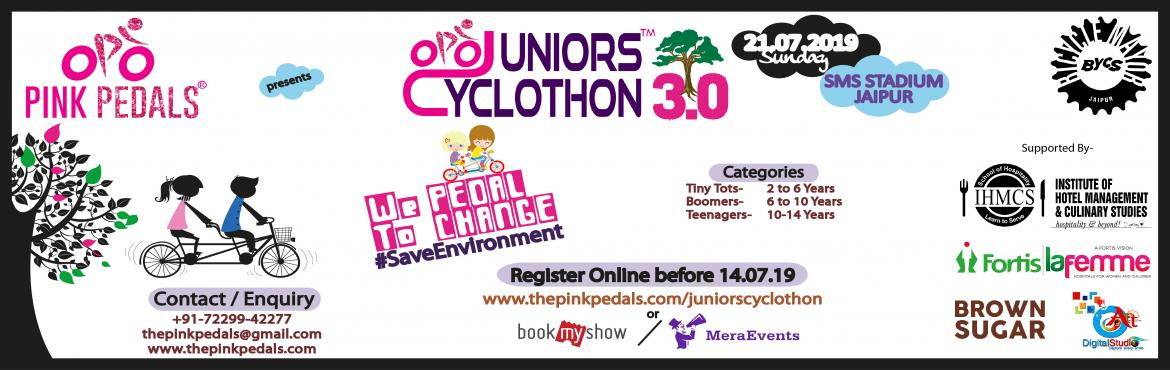 Book Online Tickets for JUNIORS CYCLOTHON, Jaipur. \