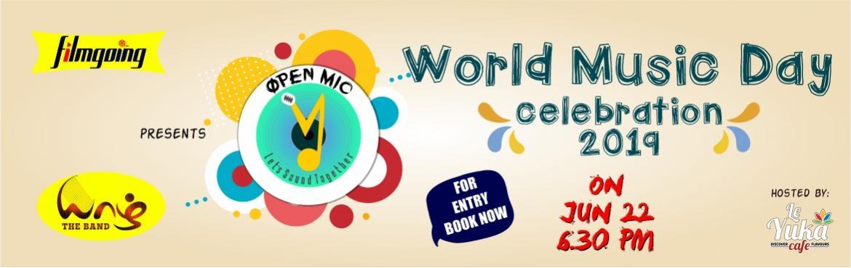Book Online Tickets for World Music Day Celebration  - 2019, Puducherry. \