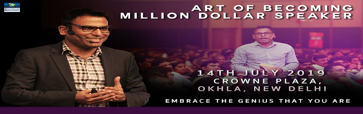Book Online Tickets for Art of Becoming Million Dollar Speaker, New Delhi. Overview In this workshop, Amandeep will teach you how to deliver compelling messages, with real-world strategies, that will captive and mesmerize your audience. It will teach you by getting you to do the material, making learning fun and engaging co
