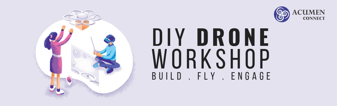 Book Online Tickets for DIY-Drone Workshop, Secunderab. India has a lot of unrealised potential in the field of Drone technology. There is a need for drone awareness and an innovative ecosystem to harness all this potential. Acumen\'s DIY nano drone is an excellent platform for beginners as well as d