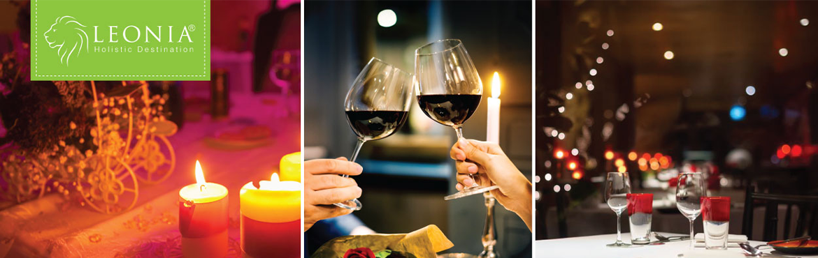 Book Online Tickets for Candle Light Dinner at Bistro (Leonia) , Hyderabad. Leonia Holistic Destination has set the perfect rendezvous for all the lovebirds to nestle and celebrate the sublime love. Remind your loved ones about how special they are by treating them with a magical Special Candle light Dinner experience at Leo