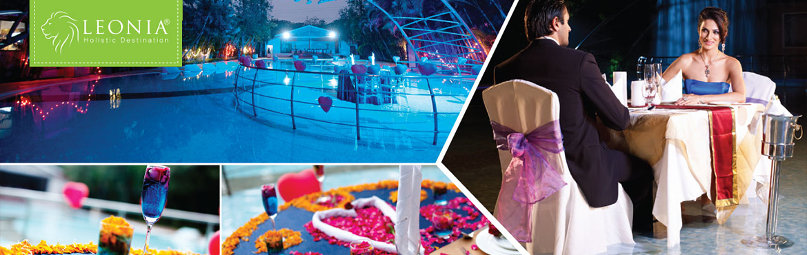 Book Online Tickets for Candle Light Dinner at Poolside (Leonia), Hyderabad. Leonia Holistic Destination has set the perfect rendezvous for all the lovebirds to nestle and celebrate the sublime love. Remind your loved ones about how special they are by treating them with a magical Special Candle light Dinner experience at Leo