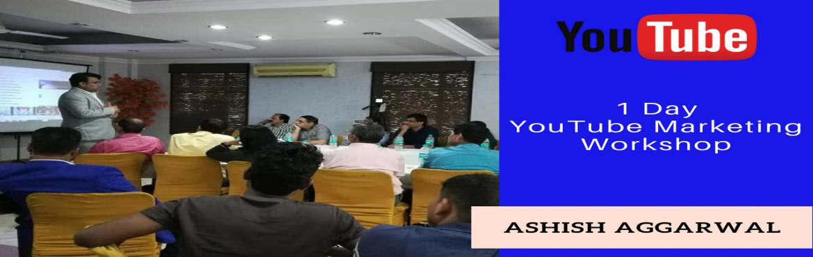Book Online Tickets for Become Expert in Youtube Workshop, New Delhi. Want to Earn through Youtube?ORWould you like to Promote your Business on Youtube? Attend this Youtube Event in North Delhi, and also share this with Your Friends.Had You Seen theMovie Secret SuperStaror Do you have any
