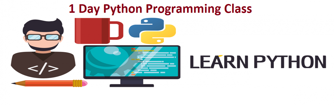 Book Online Tickets for Learn Python Programming - 1 Day Worksho, Hyderabad. Learn Python Programming  Pythonis an extensive programming language that is majorly used for Rapid Application Development (RAD) and prototyping. It is one of the most simple and straightforward programming languages to learn with an easy synt