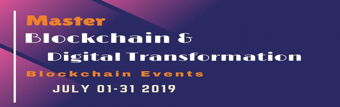 Book Online Tickets for Block Chain Technology Learn from Indust, Hyderabad.  Overview of Blockchain Technology: Today, we all know very well about how the technologies are evolving, growing and changing day by day. To grow your business in appropriate trending technology, Blockchain technology is essential to choose an