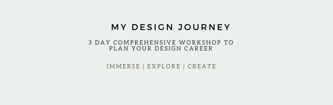 Book Online Tickets for MY design journey, Pune. #Workshopalert    *MY DESIGN JOURNEY*     *Duration* : 3 Days  *Date* : 5,6 & 7th July 2019  *Time* : 10.00am - 4.00 pm  *Venue* : The Designco , Shreenath Plaza ,FC Road.      *Content Detai