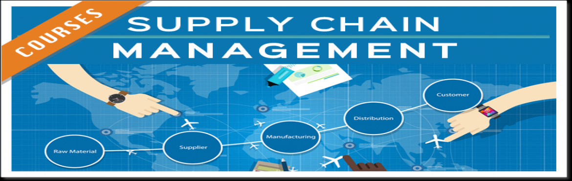 Book Online Tickets for Supply Chain management - 1 Day Learning, Hyderabad. As a human being, we all consume products and/or services all the time. This morning you got up and ate your breakfast, e.g., eggs, milk, bread, fresh fruits, and the like. After the breakfast, you drove your car to work or school. At your office, yo