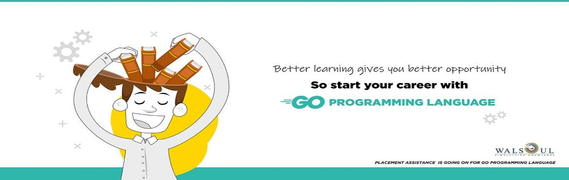 Book Online Tickets for Golang Programming, Bengaluru.  Introduction to Go    The Go development environment    Go Basics   Structure of a Go program Variables Control structures Functions Errors and error handling      Intermediate Go   Complex types Interfaces Encapsulation Cont