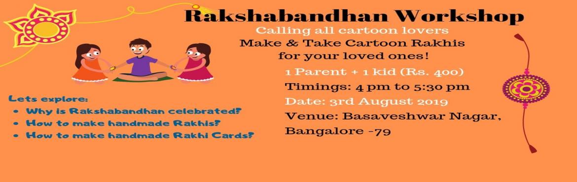 Book Online Tickets for Rakhi Making Workshop, Bangalore. The word Raksha means protection, while Bandhan is the verb to tie. It is an ancient Hindu festival that ritually celebrates the love and duty between brothers and their sisters. Raksha Bandhanis celebrated each year in the spirit of brother-si