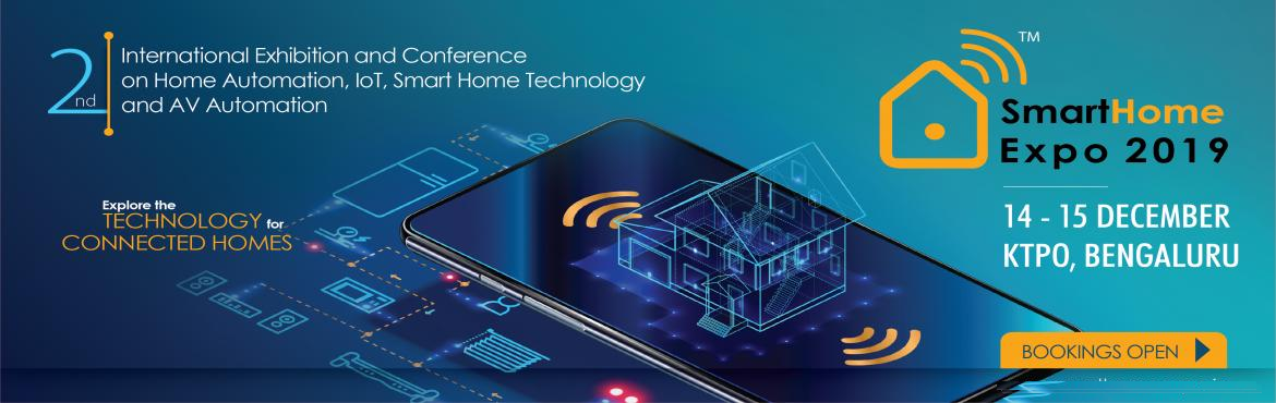 Book Online Tickets for Smart Home Expo - 2nd Edition, Bengaluru. Smart Home Expo has now become a one stop platform for the entire Smart Home Industry. Attendance for the first edition of Smart Home Expo was more than expected, which was held on 28 & 29 May, 2019 in Mumbai. Smart Home Expo was attended by 5000