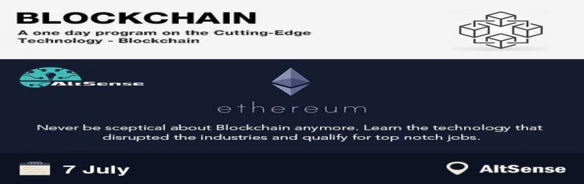 Book Online Tickets for Block chain Technology, Chennai. Blockchain: Build Decentralized Applications using EthereumHone your career by learning the Cutting-edge Technology - Blockchain. The demand for Blockchain developers exceeds the supply by far and the demand is increasing over time. If you want to wo