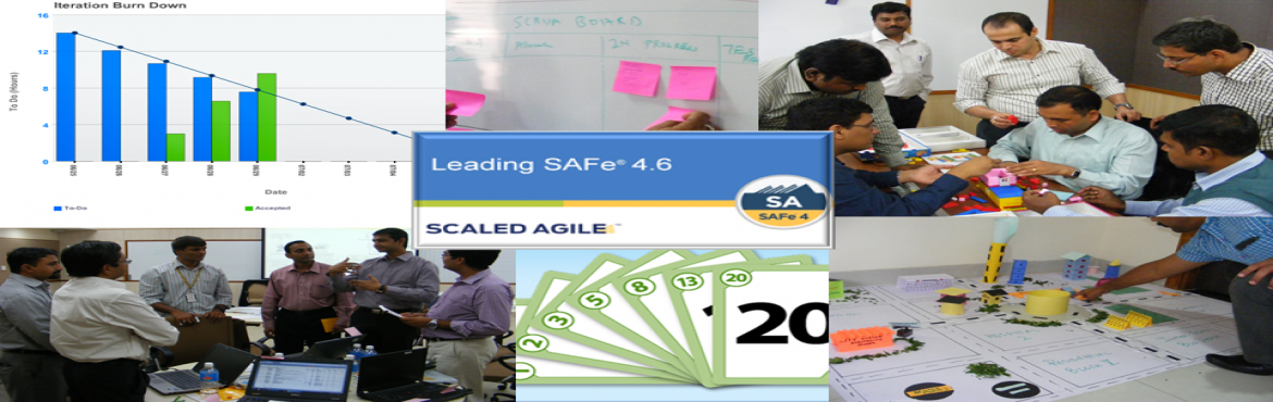 Book Online Tickets for Leading SAFe 4.6 (SAFe Agilist Certifica, Pune. Agenda for the SAFe 4 Agilist (SA) Certification Training:  Introducing the Scaled Agile Framework (SAFe) Becoming a Lean-Agile Leader Establishing Team and Technical Agility Experiencing Program Increment (PI) Planning Releasing on Demand with DevOp