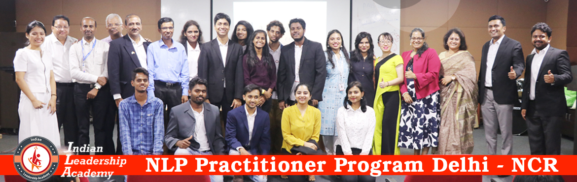 Book Online Tickets for NLP Practitioner Program - 4 Days worksh, Novida. Indian leadership Academy'sNLP and Life Coaching Program is India`s Premier NLP Workshop. It`s a 4 days program which helps you in your Professional and Personal Development. Overcome the stress and boundaries that hold yourself bac