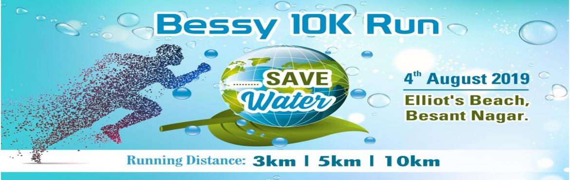 Book Online Tickets for Bessy 10K Run , Chennai. RUN FOR WATER CONSERVATION  SAVE TREES…. SAVE WATER…..    H2O Run - is a 10K Run event organized with an objective to spread awareness about water crisis in and around Chennai. The theme for this year is Water Conservatio