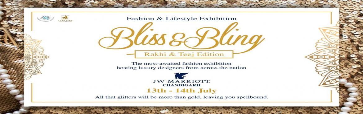 Book Online Tickets for Bliss And Bling, Chandigarh. Fashion today is no longer restricted to the capital. Talented designers are emerging from all over the nation, spinning yarns of luxury, and patterns of artistry. Luxe designer wear is not necessarily an ostentatious design. It is the fine craftsman