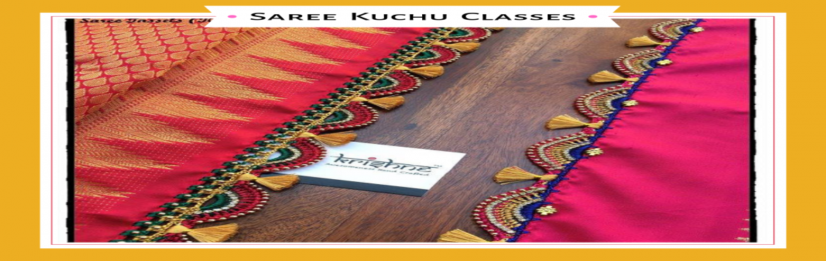 Book Online Tickets for Saree Kuchu Tassel Classes, Bengaluru. Learn the traditional craft of saree kuchu(Crochet Designs only) making at your own pace and pay only for the levels that you learn. Regular workshop for 7 days - July 22nd to 28th, 1pm to 5pm.. Weekend workshop for 4 days - July 27th & 28th , Au