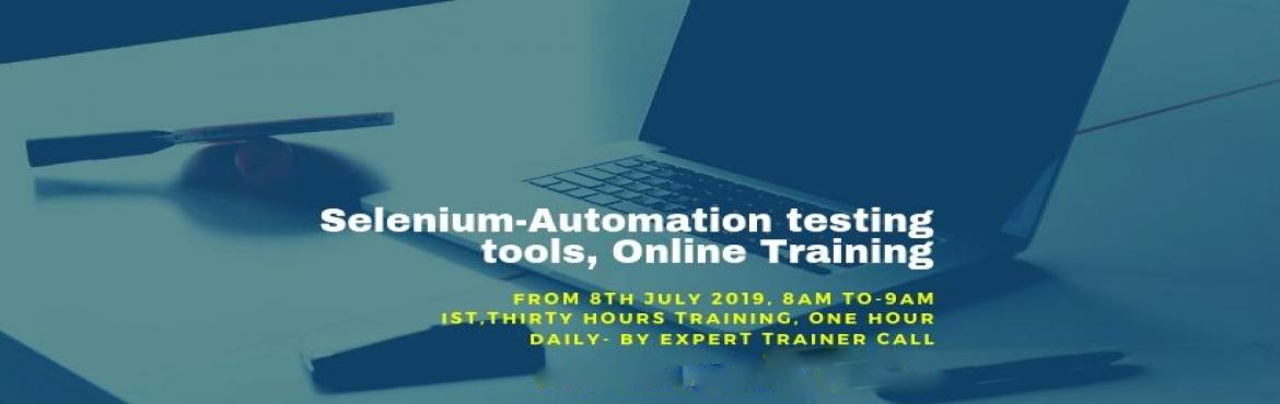 Book Online Tickets for Learn Selenium Automation -Testing tools, Bangalore. Automation is sweeping across the industries. Selenium automation testing jobs are incresing year after year. Either you are entering the IT Field or wish to Upgrade from Manual testing to Selenium testing, this is the one course, which you sho