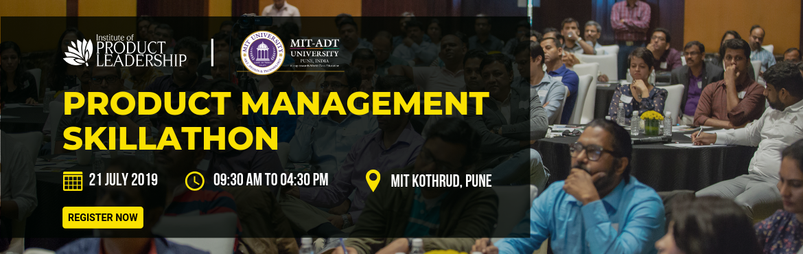Book Online Tickets for Product Management Skillathon - Pune, Pune. At the Institute of Product Leadership, examinations are replaced with Skillathons. Top Product Lab startup ideas are selected to present to a live jury of hiring managers and Industry Experts. Best voted team walks away with Skill Champion Trophy an