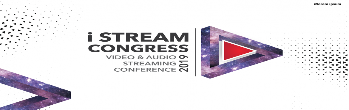 Book Online Tickets for iSTREAM CONGRESS, Mumbai.   ETBrandEquity.com iStream Congress will highlight the current trends and challenges in the video and audio streaming space. The video and audio OTT industry has grown by leaps and bounds in the last two-three years. The industry, which started