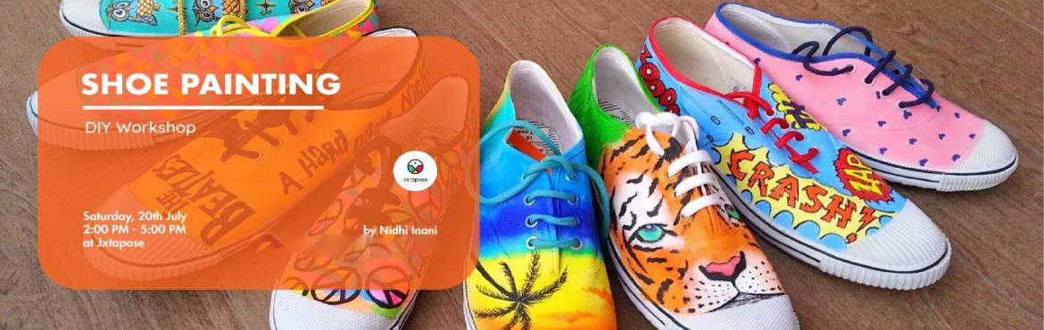 Book Online Tickets for SHOE PAINTING , Hyderabad. SHOE PAINTING By Nidhi Inani :- Looking for a great personalised gifting option? What's better than DIY shoe painting! Join the shoe painting workshop at Jxtapose to learn numerous techniques that will help you compose, design, understand the c