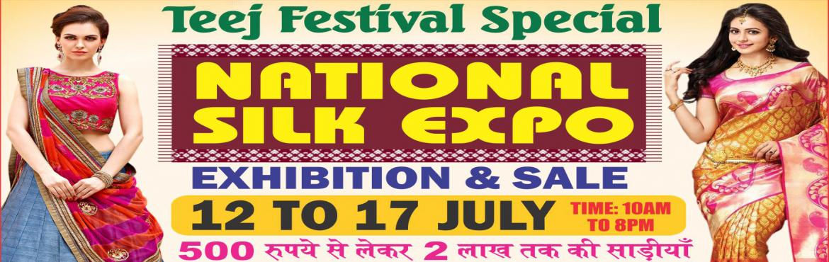 Book Online Tickets for National Silk Expo, New Delhi. There are never enough clothes in a girl's wardrobe. So, how about gifting your sister a traditional silk saree or a designer salwar suit this Raksha Bandhan? National Silk Expo — an exhibition cum sale — brings together produ